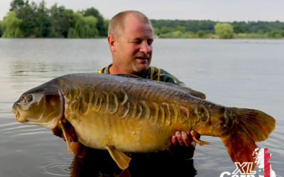 Barry Wingham Stripe XLCarpLogo2 xlcarp fisheries ingatestone