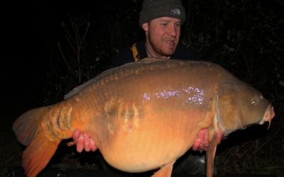 Peter King with the stunning 4 Scale - 41lb 8oz