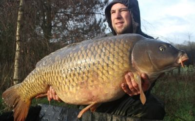 James Ellis with The Mommon's first capture over 50lb - 50lb 2oz