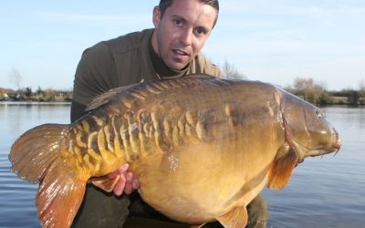Chris Hellyar with The Gurm - 52lb 8oz