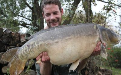 Joe Morgan with Charlie - 43lb 4oz
