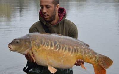 Michael Jarvis with a Main Lake stunner - 37lb 2oz