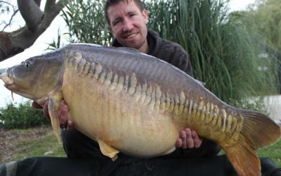 Matthew Hughes with Zip Linear - 36lb 12oz