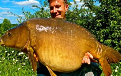 Ian Davis with 4 Scale - 39lb 4oz