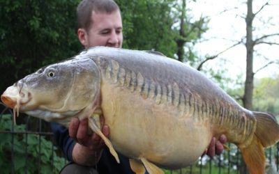 Peter Hudd with stunning Zip Linear - 35lb 4oz