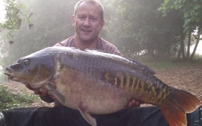 Mark Smith with No Name - 38lb