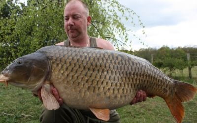 Mick Forbes with The Mommon - 40lb 8oz