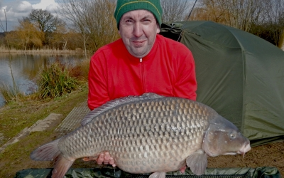 Gary Bennett with a 27 Winter Common.