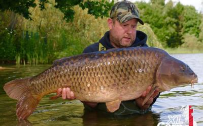 Rob Fielding Mommon 44lb 12oz XL Carp xlcarp fisheries ingatestone