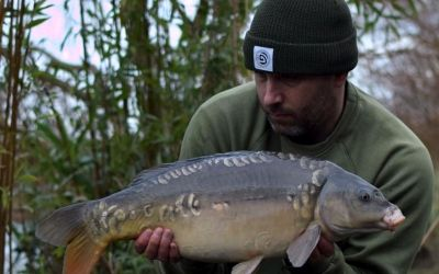 Stu Smith with one for the future from the Car Park Lake