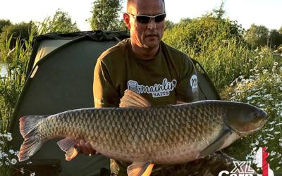 Andy Fincham 37LB GrassCarp XL Carp L2 xlcarp fisheries ingatestone