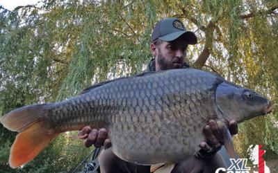 JohnCroome27lbCommonXLCARPLogo2 xlcarp fisheries ingatestone